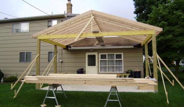 Back Porch Macungie Pa Porch Addition Kahler Construction