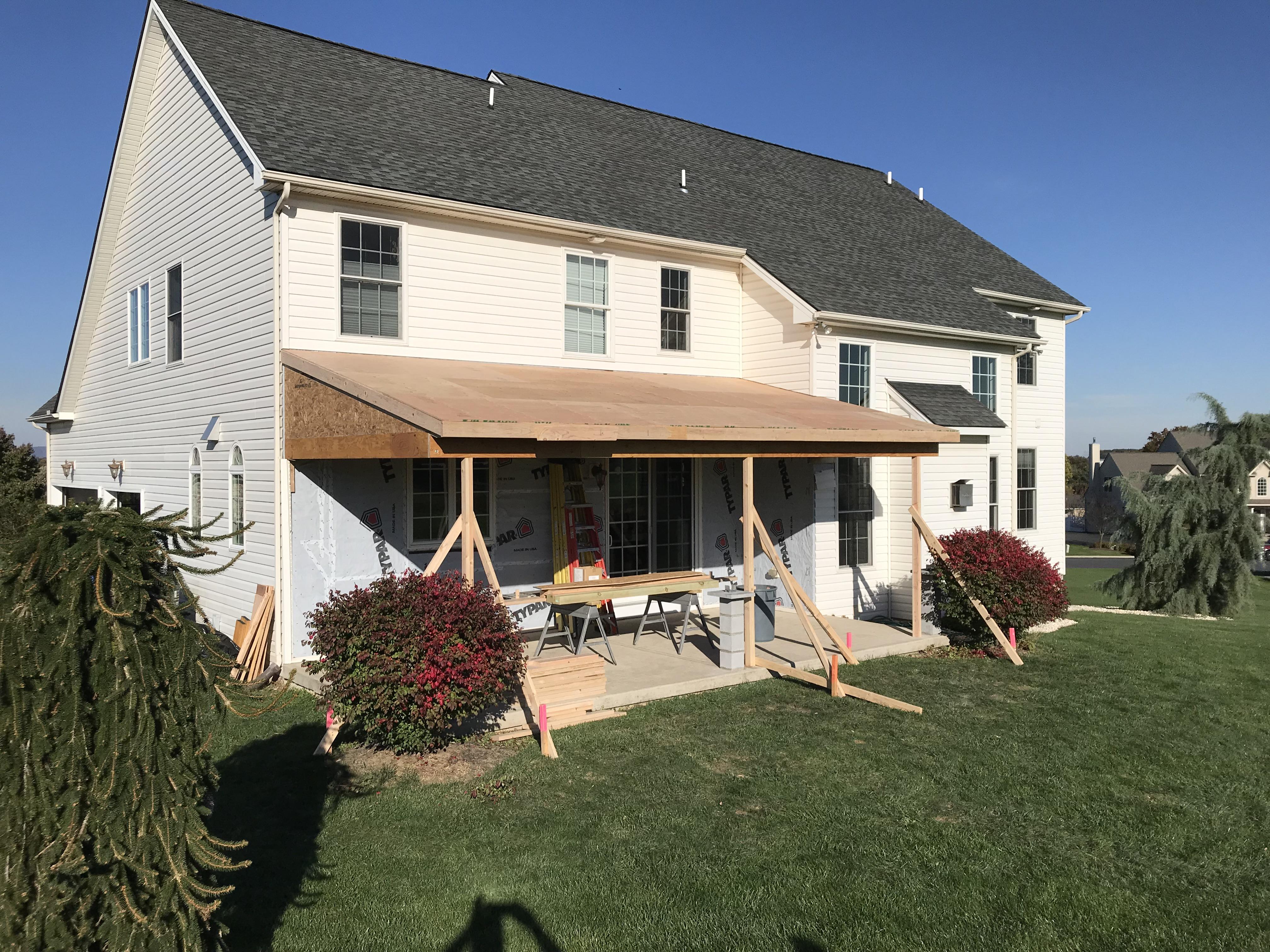 Porch Addition Schnecksville